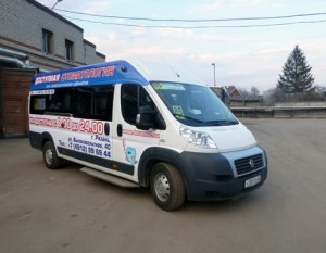 маршрутное такси реклама