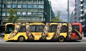 Реклама автобус